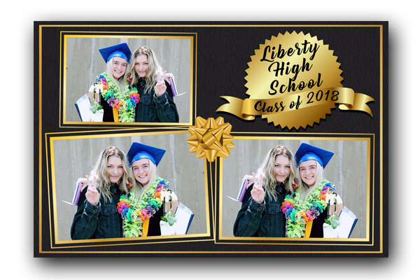 Graduation Photo Booth Template