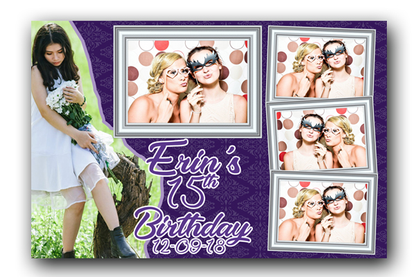 Quinceañera Photo Booth Template